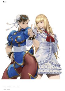 Rating: Safe Score: 20 Tags: chinadress chun_li digital_version dress emilie_de_rochefort pantsu pantyhose street_fighter tekken yasuda_akira User: Radioactive
