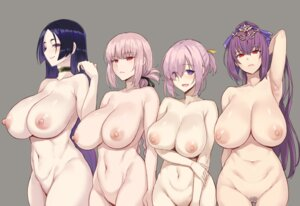 Rating: Questionable Score: 103 Tags: fate/grand_order florence_nightingale_(fate/grand_order) mash_kyrielight miyamoto_musashi_(fate/grand_order) naked nipples pubic_hair scathach_skadi zhen_lu User: Mr_GT