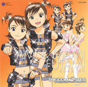 Rating: Safe Score: 5 Tags: disc_cover futami_ami futami_mami kubooka_toshiyuki the_idolm@ster User: Radioactive