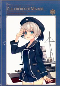 Rating: Safe Score: 21 Tags: kantai_collection seifuku shirokitsune z1_leberecht_maass_(kancolle) User: kiyoe
