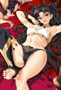Rating: Questionable Score: 49 Tags: ass bikini_armor cameltoe cle_masahiro erect_nipples ereshkigal_(fate/grand_order) fate/grand_order feet ishtar_(fate/grand_order) pantsu thighhighs User: fairyren