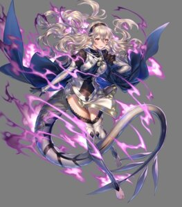 Rating: Questionable Score: 10 Tags: armor fire_emblem fire_emblem_heroes fire_emblem_if kamui_(fire_emblem) nintendo pointy_ears sencha tagme tail thighhighs transparent_png User: Radioactive