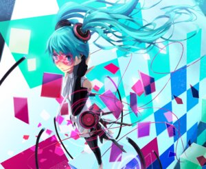 Rating: Safe Score: 11 Tags: hatsune_miku miku_append thighhighs vocaloid vocaloid_append zk0 User: eridani