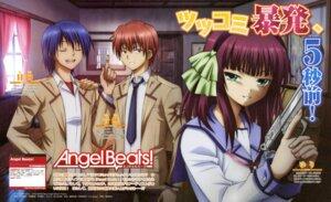 Rating: Safe Score: 21 Tags: angel_beats! hinata_(angel_beats!) nakamura_shingo otonashi seifuku yurippe User: blooregardo