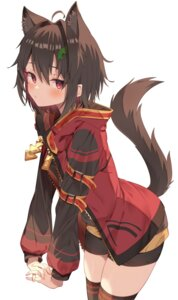 Rating: Questionable Score: 63 Tags: animal_ears jun_(aousa0328) megumin tagme tail thighhighs User: Mr_GT