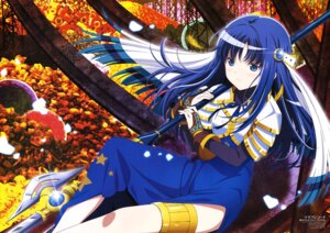 Rating: Safe Score: 36 Tags: armor dress garter magia_record:_mahou_shoujo_madoka_magica_gaiden miyajima_hitoshi nanami_yachiyo puella_magi_madoka_magica weapon User: drop
