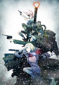 Rating: Safe Score: 10 Tags: first_squad gun nakata_hirofumi sword User: Radioactive