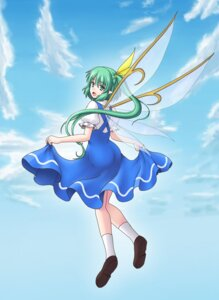 Rating: Safe Score: 6 Tags: daiyousei gomi touhou wings User: charunetra
