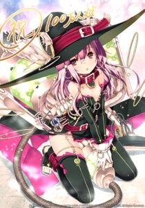 Rating: Safe Score: 67 Tags: kaku-san-sei_million_arthur refeia stockings thighhighs witch User: Anonymous