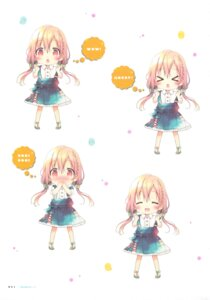 Rating: Safe Score: 19 Tags: chibi dress expression hinako_note mitsuki_(mangaka) sakuragi_hinako User: fireattack