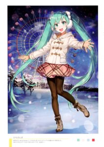 Rating: Safe Score: 36 Tags: hatsune_miku heels pantyhose shirako_miso vocaloid User: kiyoe
