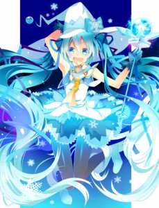 Rating: Safe Score: 33 Tags: hatsune_miku temari_(artist) vocaloid yuki_miku User: dyj