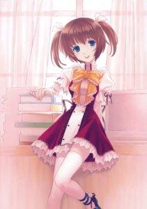 Rating: Safe Score: 12 Tags: hakuouin_ayaka kado_tsukasa princess_party seifuku thighhighs User: midzki