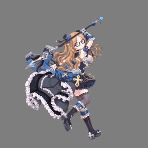 Rating: Questionable Score: 5 Tags: armor fishnets hoshi_no_girls_odyssey lolita_fashion megane thighhighs transparent_png weapon User: Radioactive