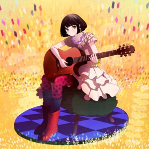 Rating: Safe Score: 6 Tags: dress guitar lidsan pantyhose User: charunetra