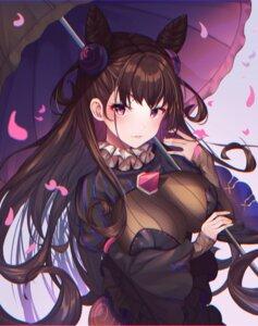 Rating: Questionable Score: 6 Tags: cleavage fate/grand_order merryj murasaki_shikibu_(fate) umbrella User: Dreista