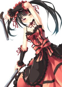 Rating: Safe Score: 105 Tags: cleavage date_a_live dress gothic_lolita gun kinta_(distortion) lolita_fashion tokisaki_kurumi User: fairyren