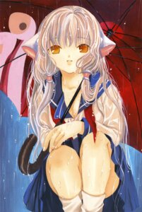 Rating: Safe Score: 15 Tags: chii chobits clamp see_through seifuku wet_clothes User: Share
