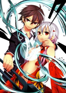 Rating: Safe Score: 15 Tags: guilty_crown ouma_shuu sakurato yuzuriha_inori User: Radioactive