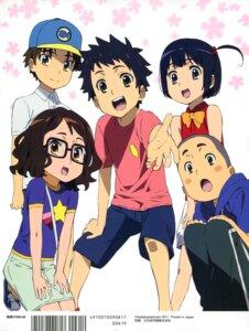 Rating: Safe Score: 15 Tags: anjou_naruko ano_hi_mita_hana_no_namae_wo_bokutachi_wa_mada_shiranai hisakawa_tetsudou matsuyuki_atsumu megane tagme tsurumi_chiriko yadomi_jinta User: SubaruSumeragi