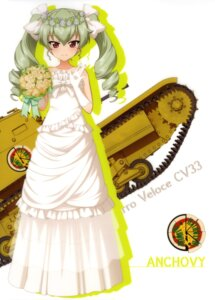 Rating: Safe Score: 31 Tags: anchovy dress girls_und_panzer silhouette wedding_dress User: drop