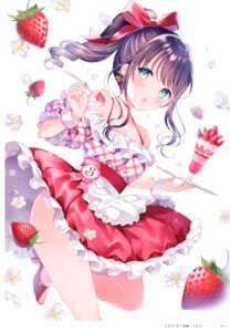 Rating: Safe Score: 55 Tags: dress skirt_lift tagme wasabi_(artist) User: kiyoe