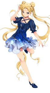 Rating: Safe Score: 46 Tags: cleavage dress heels rakeng sailor_moon tsukino_usagi User: wattzombie