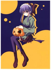 Rating: Safe Score: 18 Tags: halloween japanese_clothes nanao_naru thighhighs User: ledzep4zoso