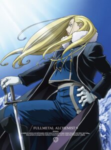 Rating: Safe Score: 13 Tags: fullmetal_alchemist olivier_mira_armstrong sword User: Radioactive