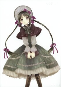 Rating: Safe Score: 47 Tags: amano_tooko bungaku_shoujo dress kona lolita_fashion User: petopeto