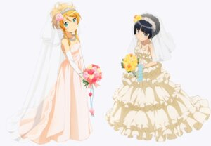 Rating: Safe Score: 83 Tags: dress gokou_ruri kousaka_kirino ore_no_imouto_ga_konnani_kawaii_wake_ga_nai wedding_dress User: Radioactive