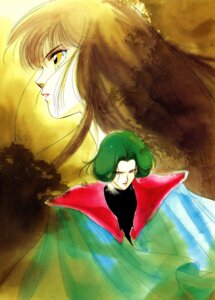 Rating: Safe Score: 4 Tags: ami kakinouchi_narumi miyu vampire_princess_miyu watercolor User: Radioactive