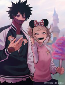 Rating: Safe Score: 10 Tags: boku_no_hero_academia dabi_(character) keiid toga_himiko User: charunetra