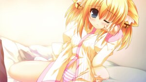 Rating: Questionable Score: 27 Tags: game_cg kuon_itsuki pantsu rosebleu shimapan tiny_dungeon User: xxdcruelifexx