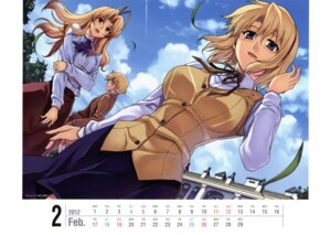 Rating: Safe Score: 24 Tags: calendar freezing kim_kwang-hyun louis_el_bridget satellizer_el_bridget seifuku violet_el_bridget User: YamatoBomber