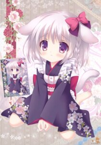 Rating: Safe Score: 49 Tags: animal_ears inumimi lolita_fashion roritora tail tsukishima_yuuko wa_lolita User: crim