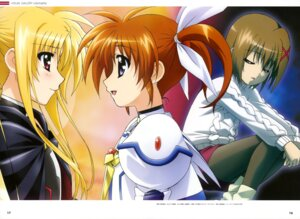 Rating: Safe Score: 10 Tags: fate_testarossa hashimoto_takayoshi mahou_shoujo_lyrical_nanoha mahou_shoujo_lyrical_nanoha_a's mahou_shoujo_lyrical_nanoha_the_movie_2nd_a's takamachi_nanoha yagami_hayate User: drop