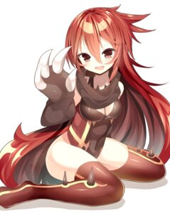 Rating: Safe Score: 22 Tags: anthropomorphization cleavage groudon kuro_guren leotard pokemon thighhighs User: Mr_GT
