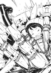Rating: Safe Score: 7 Tags: kohiruimaki_karen kuroboshi_kouhaku llenn monochrome sword_art_online_alternative:_gun_gale_online User: kiyoe