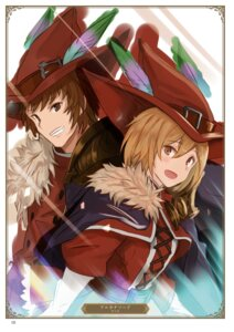Rating: Safe Score: 5 Tags: djeeta_(granblue_fantasy) gran_(granblue_fantasy) granblue_fantasy yatsuka_(846) User: Twinsenzw