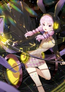 Rating: Safe Score: 29 Tags: animal_ears bunny_ears dress headphones lepoule_(kmjh90) vocaloid yuzuki_yukari User: Mr_GT