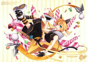 Rating: Safe Score: 16 Tags: animal_ears curry_bowl kagamine_len nekomimi tail vocaloid User: Mr_GT