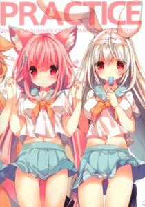 Rating: Safe Score: 31 Tags: animal_ears bunny_ears cynthia_riddle p19 practice seifuku skirt_lift tail User: kiyoe