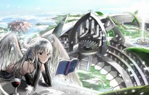 Rating: Safe Score: 28 Tags: angel landscape pointy_ears tagme wallpaper wings User: AnoCold