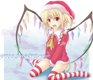 Rating: Questionable Score: 7 Tags: christmas flandre_scarlet momiz-tama touhou User: konstargirl