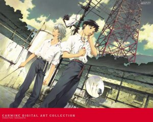 Rating: Safe Score: 13 Tags: ikari_shinji male nagisa_kaworu neon_genesis_evangelion sadamoto_yoshiyuki wallpaper User: Radioactive