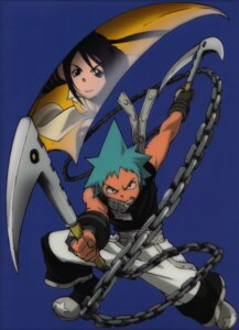 Rating: Safe Score: 7 Tags: black_star nakatsukasa_tsubaki scanning_artifacts scanning_dust soul_eater User: hecfa
