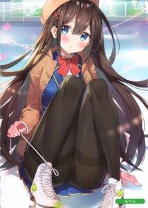 Rating: Questionable Score: 67 Tags: ayamy melonbooks miyawaki_sana pantyhose seifuku User: kiyoe