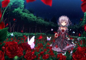 Rating: Safe Score: 56 Tags: dress gothic_lolita hapymaher lolita_fashion naitou_maia thighhighs ugume User: Mr_GT