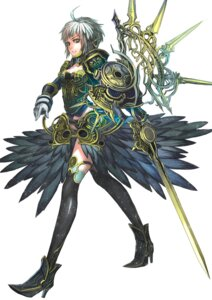 Rating: Safe Score: 14 Tags: armor nakamura_eito sword thighhighs User: Radioactive